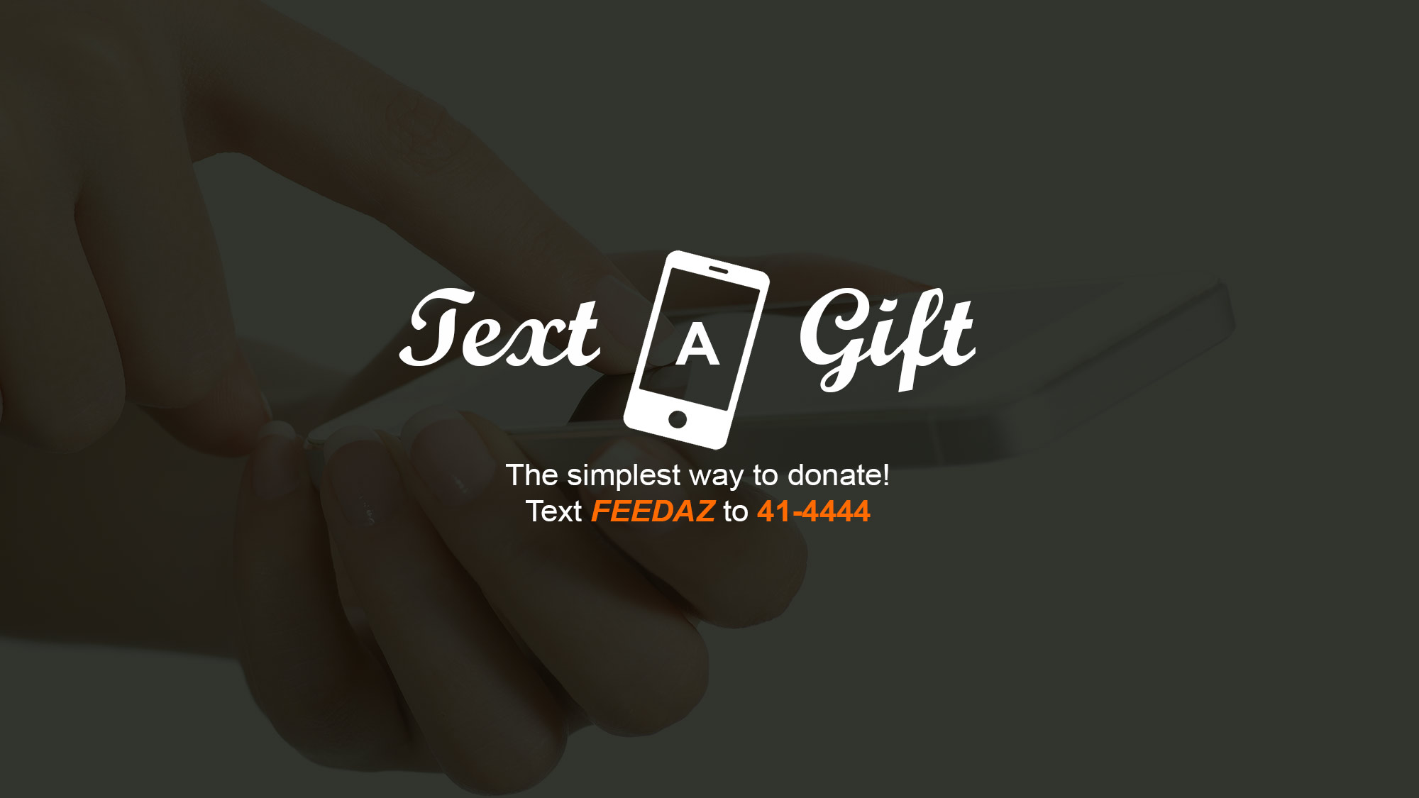 Text to Give to United Food Bank